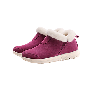 Leia真皮羊毛系列休闲暖靴-女士