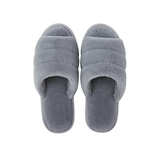 Harper毛绒系列柔软家居拖鞋