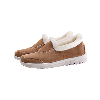 Leia真皮羊毛系列舒适休闲鞋