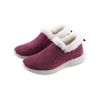 Niels真皮羊毛休闲暖靴-女士