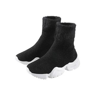 Steps随型系列弹力针织袜靴