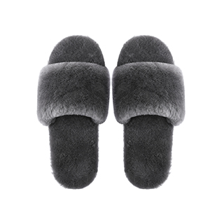 Sofia柔暖全羊毛拖鞋-透气款