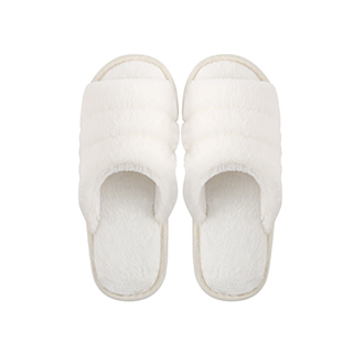 Hayley毛绒系列柔软家居拖鞋