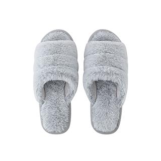 Harper毛绒系列柔暖家居拖鞋