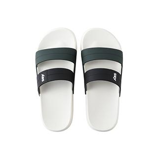 Gloria果冻彩条时尚拖鞋