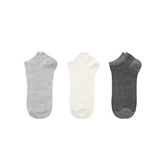 Lance透气绢丝浅口袜-男士(3双装)