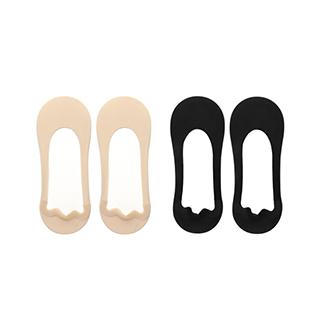 Caiden毛圈底浅口船袜-女士(2双装)