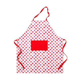 Abram趣味厨房系列轻便围裙(爱心款)