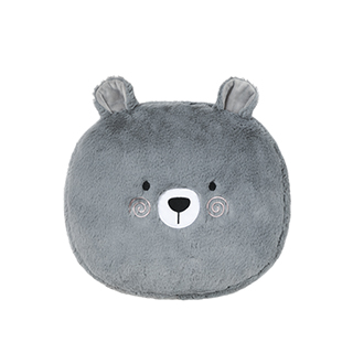 Buffy仿兔毛柔暖抱枕-小熊