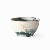 Lotus荷塘月色陶瓷4.5英寸碗