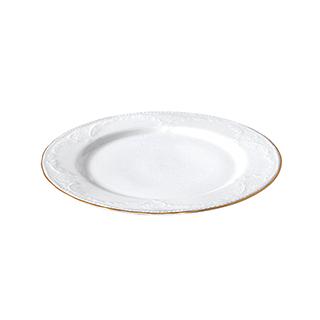 Royal皇家花园浮雕系列8英寸金边餐盘