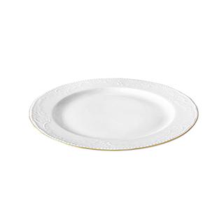 Royal皇家花园浮雕系列10.5英寸金边餐盘