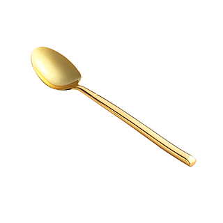 Gilding鎏金系列镀金茶勺