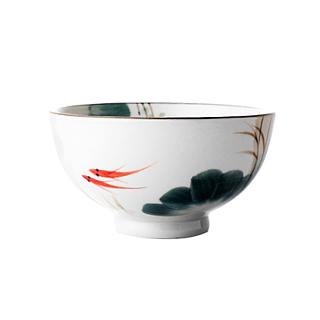 Lotus荷塘月色系列陶瓷碗(4.25英寸)