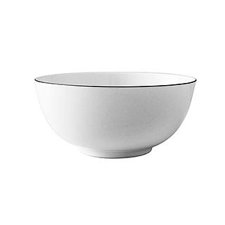 Ingrid英格丽银边系列骨瓷汤碗(7英寸)