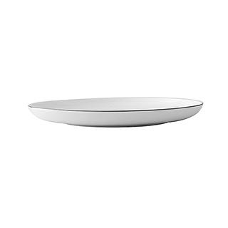 Ingrid英格丽银边系列骨瓷餐盘(10.25英寸)