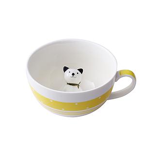 Meroy萌系卡通陶瓷咖啡杯(小狗)