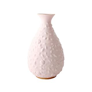 Pink粉色少女系列简约浮雕花瓶