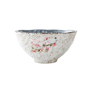 Snowing雪花釉系列傲雪寒梅陶瓷碗(6英寸)