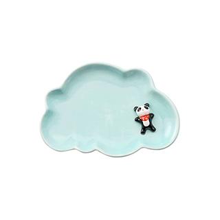 Petty萌系陶瓷餐盘-熊猫