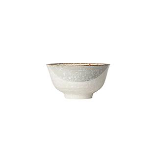 Snowing雪花釉系列雪樱子陶瓷碗(4.5英寸)