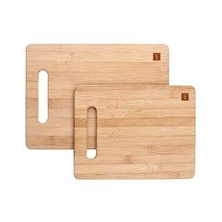 Bamboo精制碳化竹砧板(2件组)