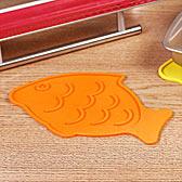Cooker库克厨房用具系列-防烫硅胶隔热垫2件组(鱼型)