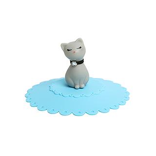 Luna优雅露娜猫硅胶防尘杯盖