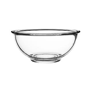 Gladys耐热高硼硅加厚玻璃碗(4.5英寸)