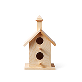 Birdhouse创意DIY涂色小木屋-A款