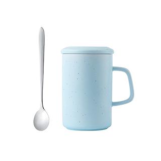Major耐热镁质瓷系列马克杯(带勺)