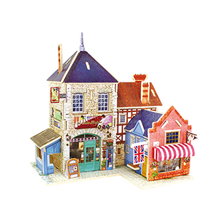 Kevin儿童益智玩具系列3D立体拼装模型-英国乐器店