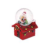 Christmas圣诞系列飘雪水晶球-圣诞老人