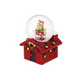 Christmas圣诞系列飘雪水晶球-麋鹿精灵