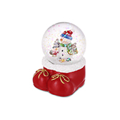 Christmas圣诞系列飘雪水晶球-欢乐雪人