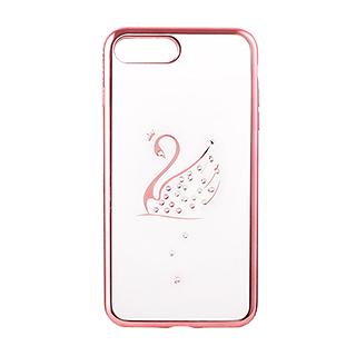 Sibyl西贝尔时尚系列天鹅镶钻手机壳(IPhone7Plus)