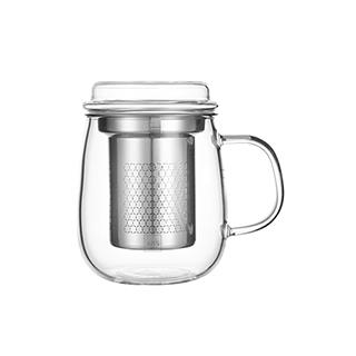 Hills耐热玻璃系列泡茶杯-时尚款(500ml)