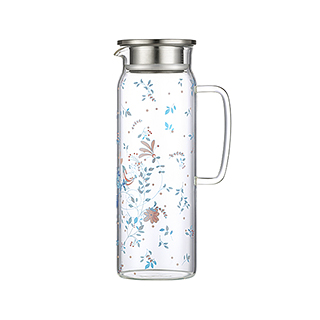 Hills耐热玻璃系列冷水壶-幸福鸟款(1.5L)