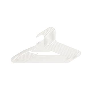 Lester莱斯特晾晒系列防风防滑衣架(10只装)