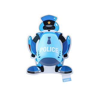 Klilit童趣系列机器人牙刷架-警察先生