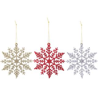 Christmas圣诞系列装饰雪花-闪亮款
