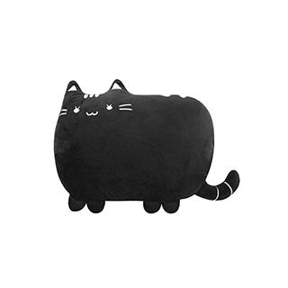 Meroy萌系卡通毛绒靠垫-猫咪