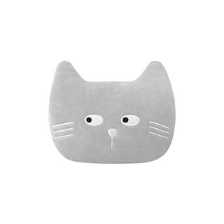 Meroy萌系卡通毛绒暖手抱枕-猫咪