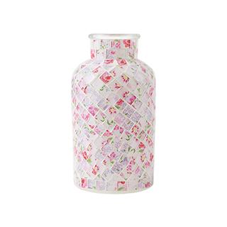 Louvre流光系列玻璃花瓶-印花款