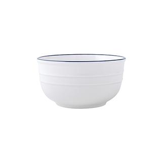 Dalton地中海系列简约陶瓷碗(4.5英寸)