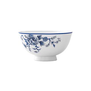 Joyce凤鸾青花骨瓷碗(4.75英寸)
