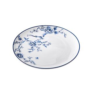 Joyce凤鸾青花骨瓷餐盘(10.25英寸)