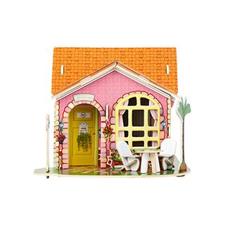 Reeve立体DIY拼装模型-别墅客厅