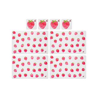 Fruits果趣系列餐杯垫套组-草莓(4组装)
