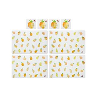 Fruits果趣系列餐杯垫套组-菠萝(4组装)